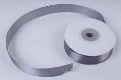 Лента атласная 2см*25ярд  серый  (Н) К