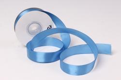лента атласная 2см*25ярд  синий   (н) к