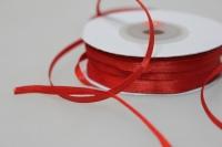 Лента атласная (3 мм х 30 м) Красная Китай