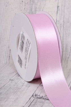 Лента атласная 2,5см*22,85м 93 нежно-розовая, 0016М