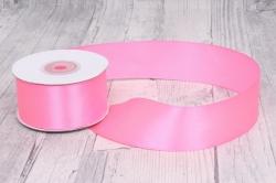 Лента атласная 3,8см*22,85м 05 розовая 0019М