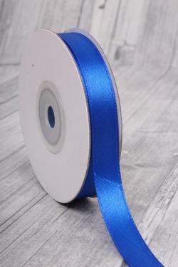 Лента атласная 1,2см*22,85м 40 синяя, 0016М