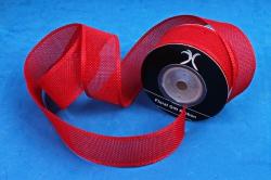 Лента джутовая, 3,8см*10м красный (Н)