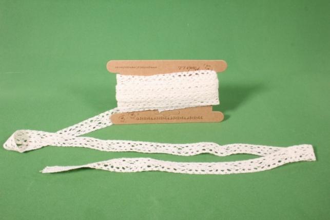 лента кружево декоративная - 2,5cм*4,6м 201krb п