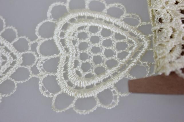лента кружево декоративная 5cм х 1м 17krp 7992