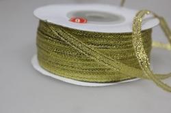 Лента парча (03мм х 50м) золото Китай