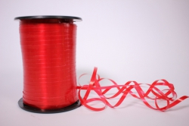 Лента простая 0,5х500м - Красная P0526