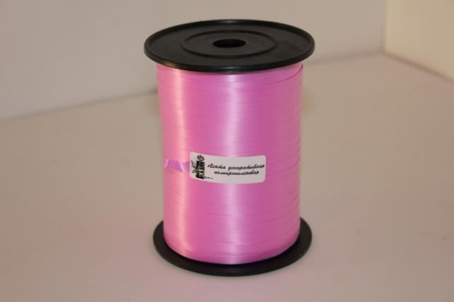 0,5 см х 500м лента простая 0,5х500м - ярко-розовая p0537 Р0537