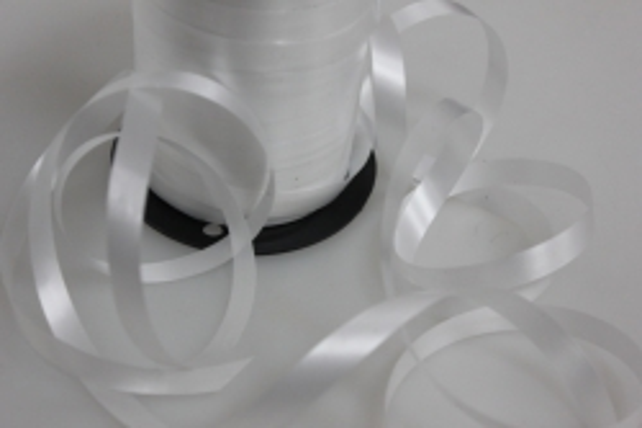1,0 см х 250м лента простая (1см х 250м) p105 белый P105