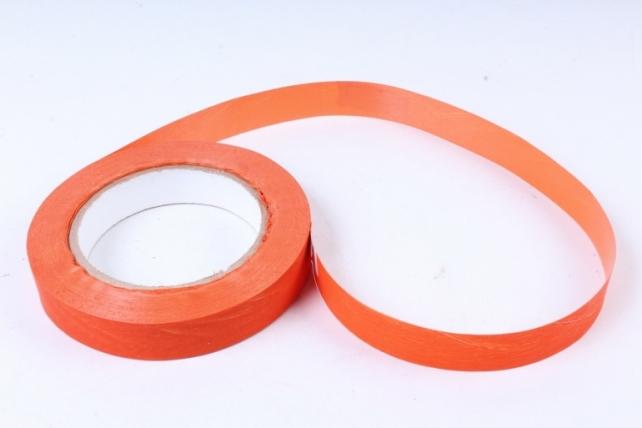 Лента простая 2х50м матовая Оранжевая К207