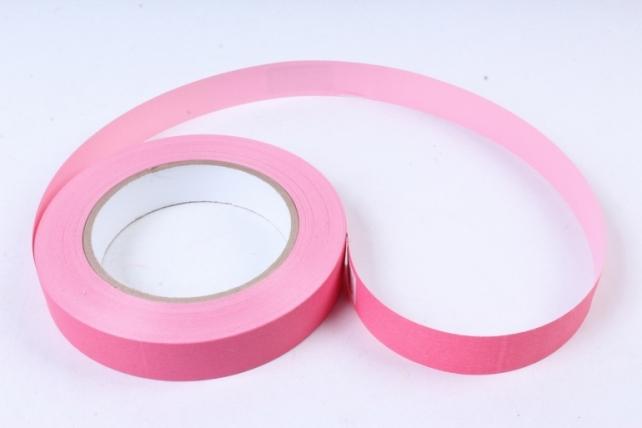 Лента простая 2х50м матовая Светло-розовая К202