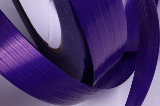 лента простая (2см*50м) i209 итальянское тиснение фиолетовый