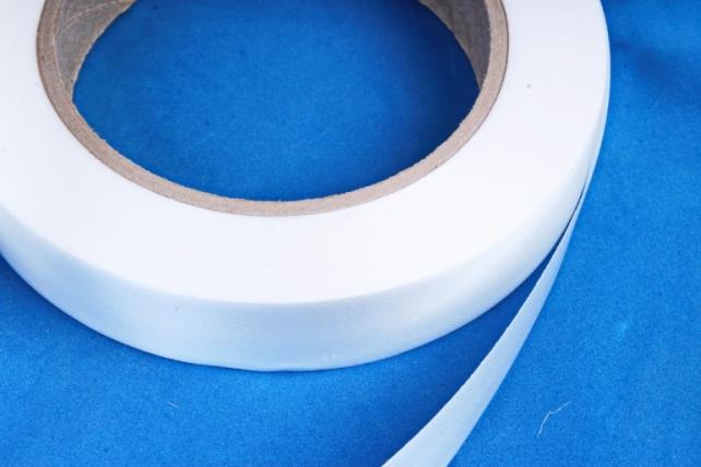 Лента простая (2см х 50м) Гладкая без тиснения P292 БЕЛАЯ