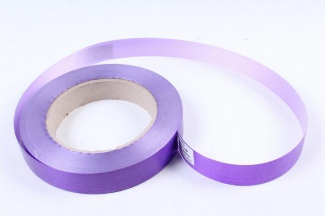 Лента простая (2см x 50м) Гладкая без тиснения P2032 ФИОЛЕТОВЫЙ