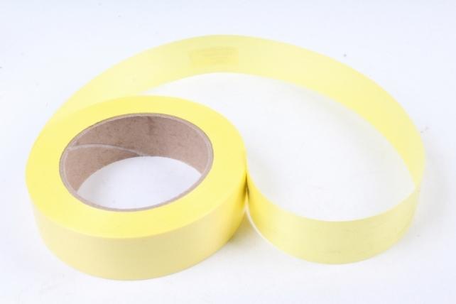 Лента простая 3х50м Гладкая без тиснения Жёлтая P329