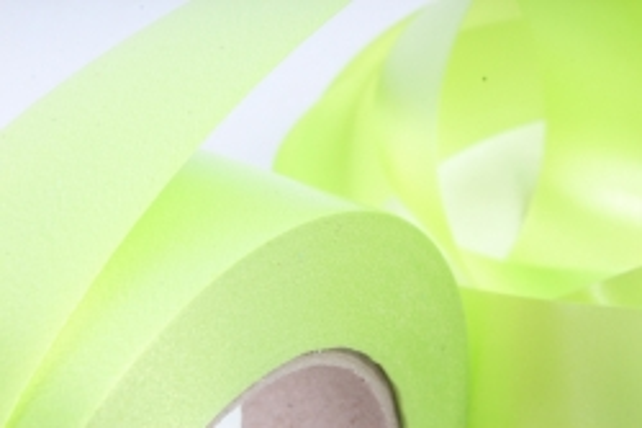 Лента простая 3х50м Гладкая без тиснения Салатовая P327