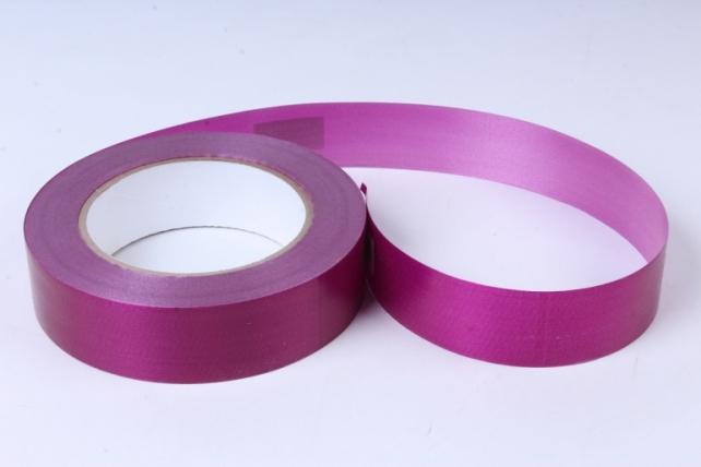 лента простая (3см*50м) гладкая без тиснения p372 вишнёвый