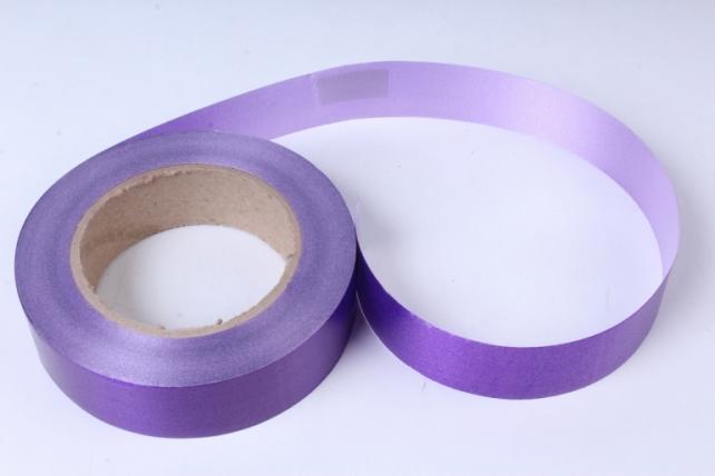 Лента простая (3см*50м) Гладкая без тиснения P373 ФИОЛЕТОВЫЙ