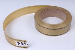 Лента простая (3см*50м) С дубками по краям P3016 БРОНЗА