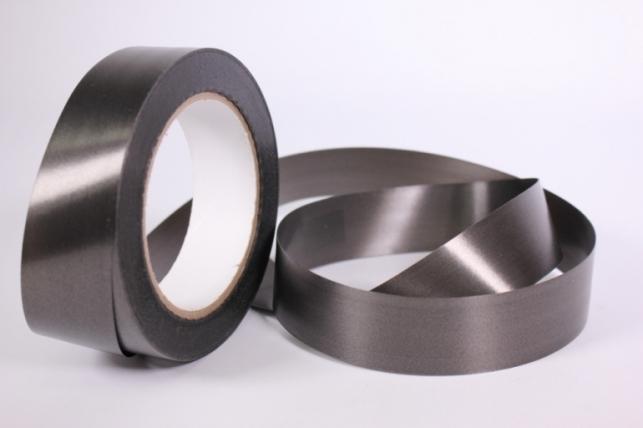 Лента простая (3см x 50м) Гладкая без тиснения P333 ЧЕРНАЯ