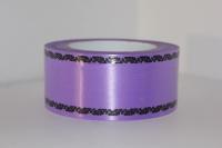 Лента простая 5х50у Фиолетовая Дубки P537
