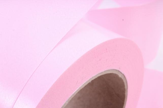Лента простая (5см х 50м) Гладкая без тиснения P594 РОЗОВЫЙ