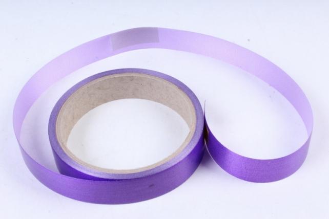 Лента простая (2см*10м) Гладкая без тиснения P2215 ФИОЛЕТОВЫЙ