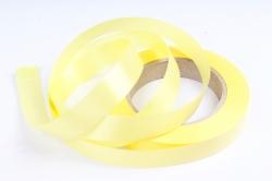 Лента простая (2см*50м) Гладкая без тиснения P2067 ЛИМОННЫЙ