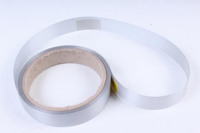 Лента простая (2см*10м) Гладкая без тиснения P2212 СЕРЫЙ