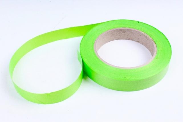 Лента простая (2см*50м) Гладкая без тиснения P2068 ТРАВЯНАЯ