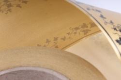 Лента простая (8см*50м) мелкий лист P842 БРОНЗОВЫЙ