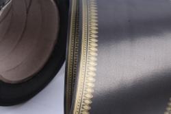 Лента простая (8см*50м) зубцы P836 ЧЁРНЫЙ