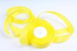 Лента репсовая 2,5см*25y желтый К