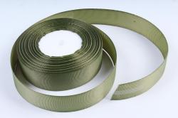 Лента репсовая 2,5см*25y оливка К