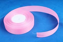 Лента репсовая 2,5см*25y розовый К