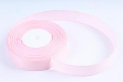 Лента репсовая 2,5см*25y розовый пастель К