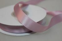 Лента шелк (15 мм х 20 м) Розовая