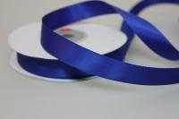 Лента шелк (15 мм х 20 м) Синяя