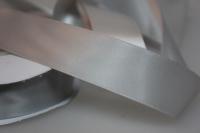 Лента шелк (25 мм х 20 м) Серебряная