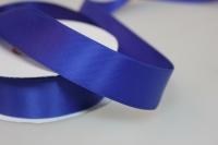 Лента шелк (25 мм х 20 м) Синяя
