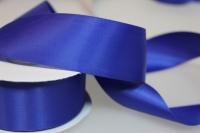 Лента шелк (38 мм х 20 м) Синяя