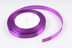 Лента тканная атласная 12мм*25Y Фиолетовый F014-12/35  МН