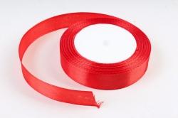 Лента тканная атласная 19мм*25Y Красная F014-19/26  МН