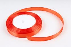 Лента тканная атласная 12мм*25Y Оранжевый F014-12/25  МН