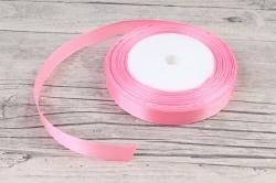 Лента тканная атласная 12мм*25Y Розовая 0925-22/05  МН