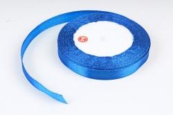 Лента тканная атласная 12мм*25Y Синий F014-12/40  МН