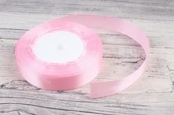 Лента тканная атласная 19мм*25Y Светло розовый F014-19/04  МН