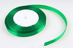 Лента тканная атласная 12мм*25Y Зеленый F014-12/19  МН