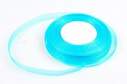 Лента тканная органза 12мм*50Y Бирюза  F014-50/BK15