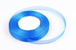 Лента тканная органза 12мм*50Y Синий  F014-46/1040